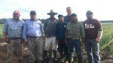 Trabajadores agrícolas temporales