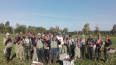 Canadá trabajadores agrícolas