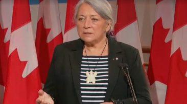 Indígena Gobernadora General de Canadá