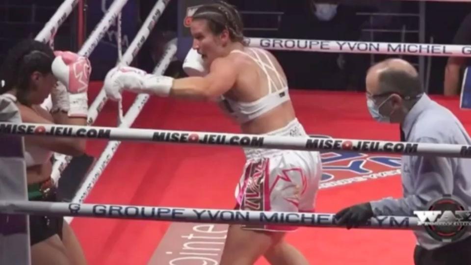 boxeadora mexicana coma Canadá