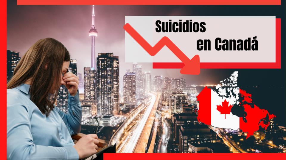 suicidios en Canadá pandemia